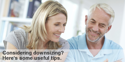 tips on downsizing your home