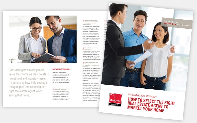 How to select the right real estate agent to market your home
